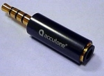 Accutone Nokia adapter Jack 3,5 mm 4 pin